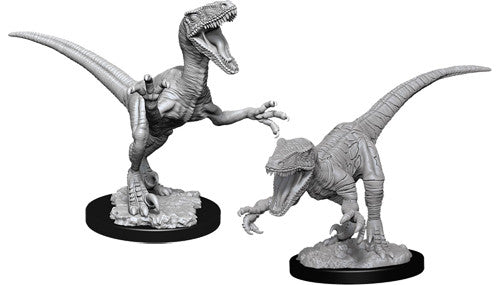 WizKids Deep Cuts Unpainted Miniatures: Raptors