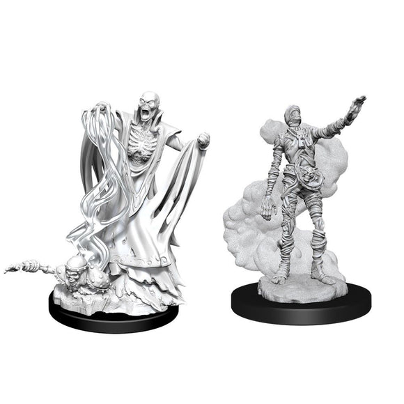 D&D Nolzur's Marvelous Unpainted Miniatures: Lich & Mummy Lord