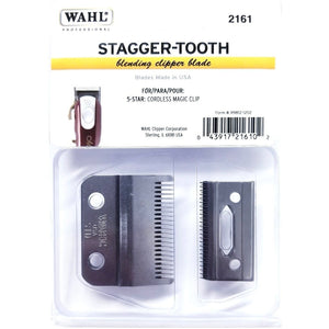 WAHL Stagger-Tooth 2-Hole Magic Clip Cordless Blade (2161)