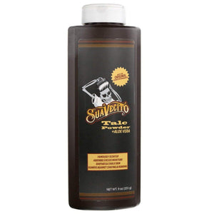 Suavecito Gentle talcum powder with aloe vera, 9 oz