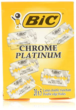 Load image into Gallery viewer, BiC Chrome Platinum Double Edge Blade - 100 Blades
