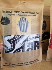 The Shave Factory Premium Barber Cape
