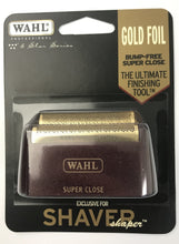 Load image into Gallery viewer, WAHL 5 STAR SHAVER SUPER CLOSE REPLACEMENT FOIL - GOLD #7031-200
