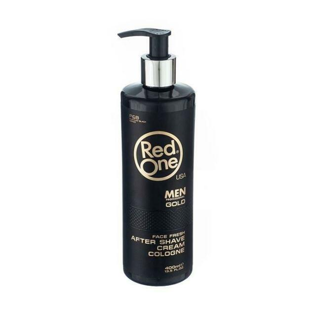 Red One After Shave Cream Cologne - Gold