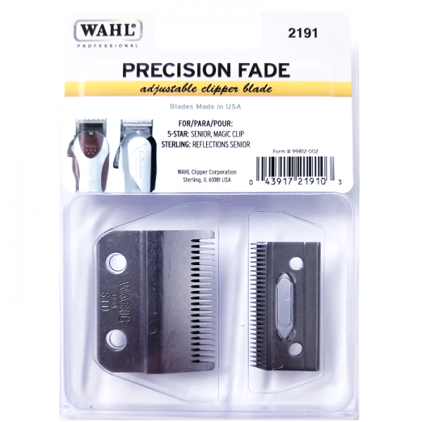 WAHL CLIPPER BLADE FOR 5 STAR SENIOR, MAGIC CLIP, STERLING REFLECTIONS SENIOR #2191