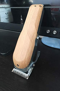 3D Barber Cordless Wahl Senior Replacement Clipper #8504 (Wood color plastic material)
