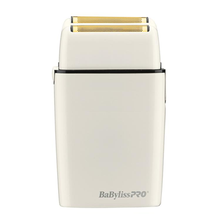 Load image into Gallery viewer, BabylissPro White Double Foil Shaver #FXFS2W
