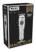 Load image into Gallery viewer, WAHL METAL EDITION CORDLESS MAGIC CLIP CLIPPER #8509 (DUAL VOLTAGE)