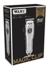 WAHL METAL EDITION CORDLESS MAGIC CLIP CLIPPER #8509 (DUAL VOLTAGE)