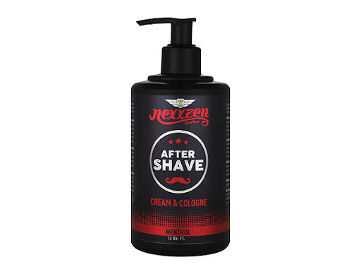 Nexxzen After Shave Cream & Cologne - Menthol 12 oz
