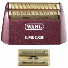 Load image into Gallery viewer, WAHL 5 STAR SHAVER SUPER CLOSE REPLACEMENT FOIL & CUTTER BAR ASSEMBLY - GOLD #7031-100
