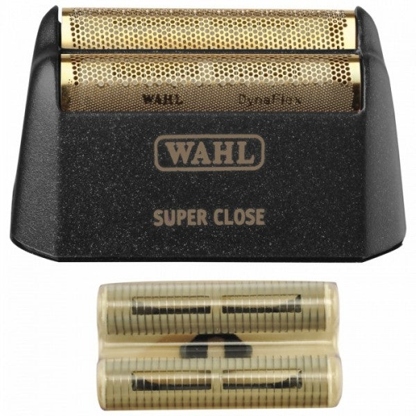 WAHL 5 STAR FINALE SUPER CLOSE REPLACEMENT FOIL & CUTTER BAR ASSEMBLY - GOLD #7043