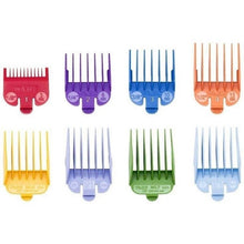 Load image into Gallery viewer, Wahl Professional 1-8 Color-Coded Cutting Guides (3170-400)
