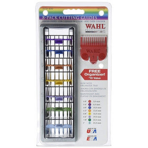 Wahl Professional 1-8 Color-Coded Cutting Guides (3170-400)