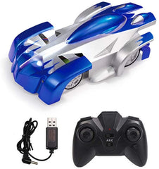 Remote Control Car, Blue Wall Climbing RC Car LED Light