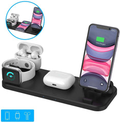Wireless Charger 6 in 1 - 3.0 Adapter Included