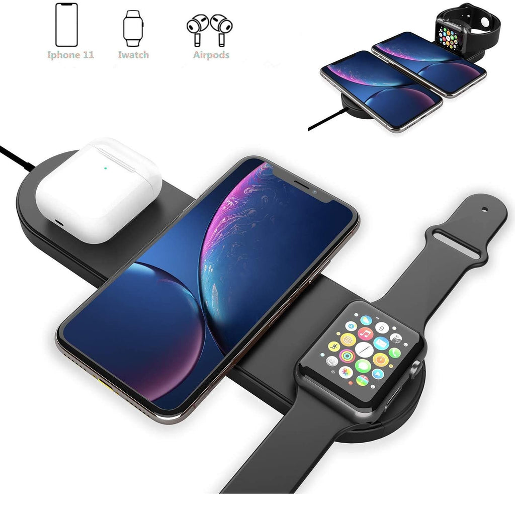 Wireless Charger 3 in 1 - 3.0 Adapter Included