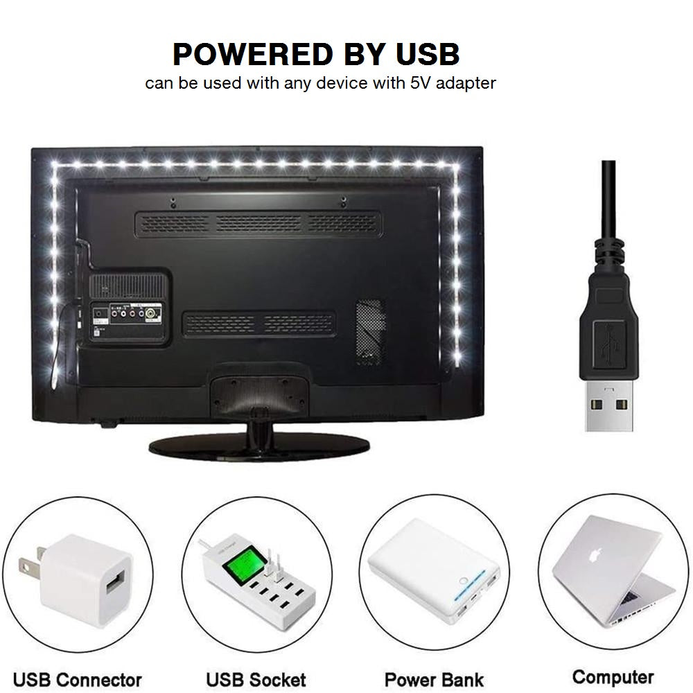"39"" LED Strip Lights for TV or PC Monitor"