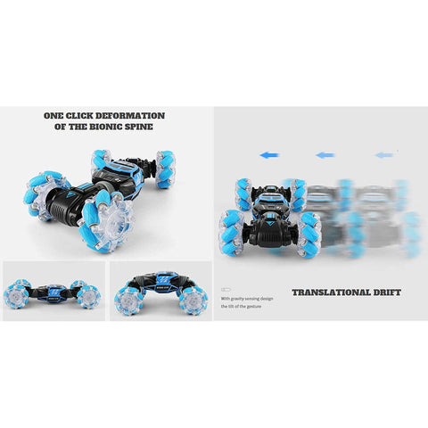 Remote Control Car, Blue RC Tornado - Twister Double Batteries