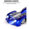 Image of Remote Control Car, Blue Wall Climbing RC Car LED Light