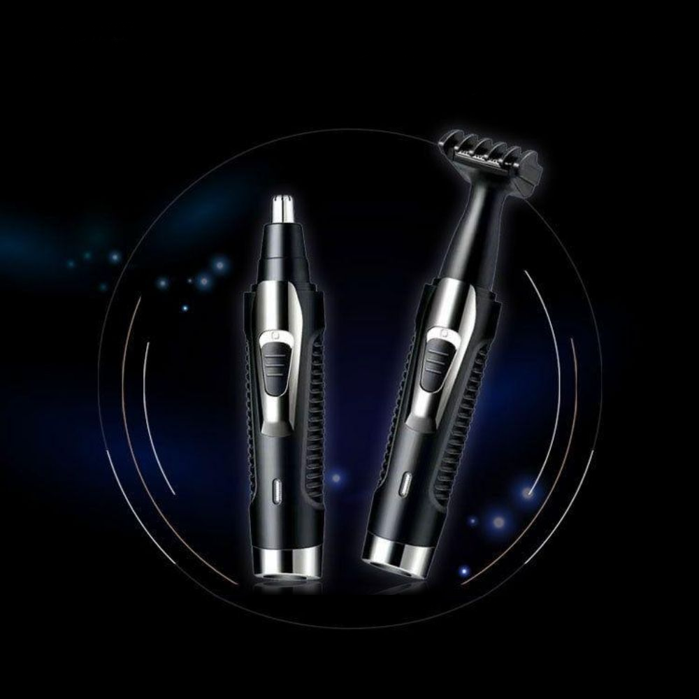 2 in 1 Ear & Nose Hair Trimmer Set - Rechargeable