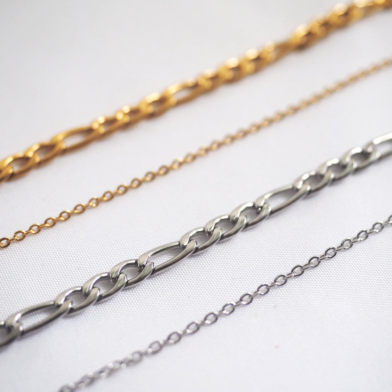 Roux Double Chain Necklace