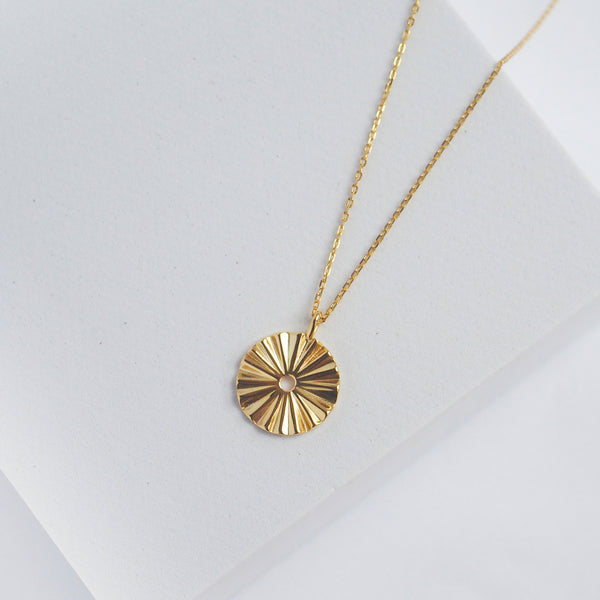 Astrid Disc Necklace