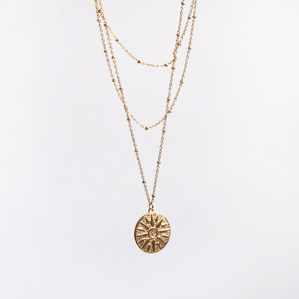 Antonie Triple Layers Necklace