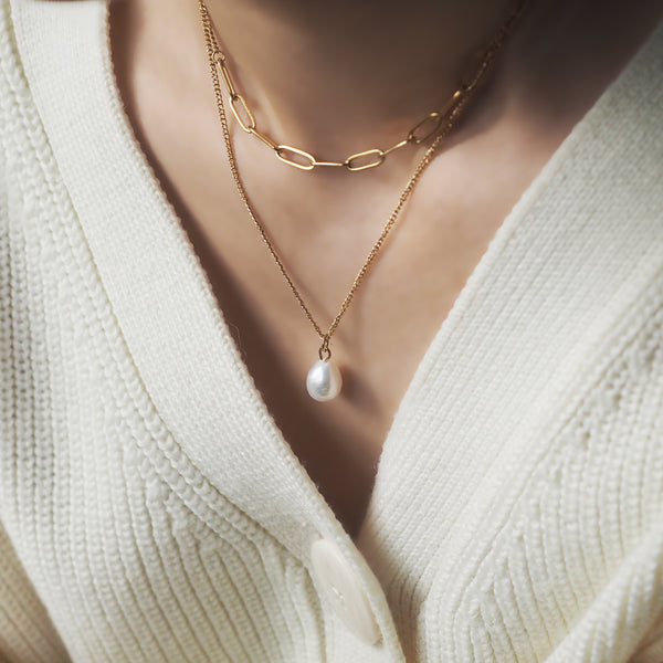 Belinda Double Layered Necklace