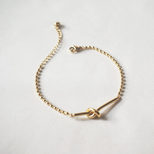 Knotted Rope Bracelet