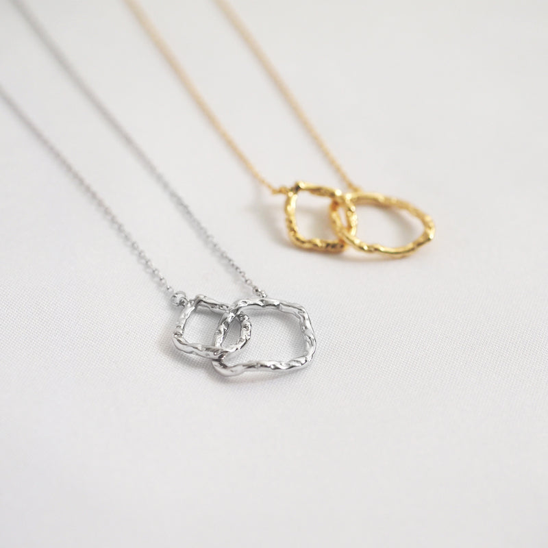 Manon Linked Hoop Necklace