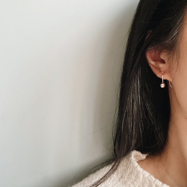 Ottilie Minimalist Ball Earrings