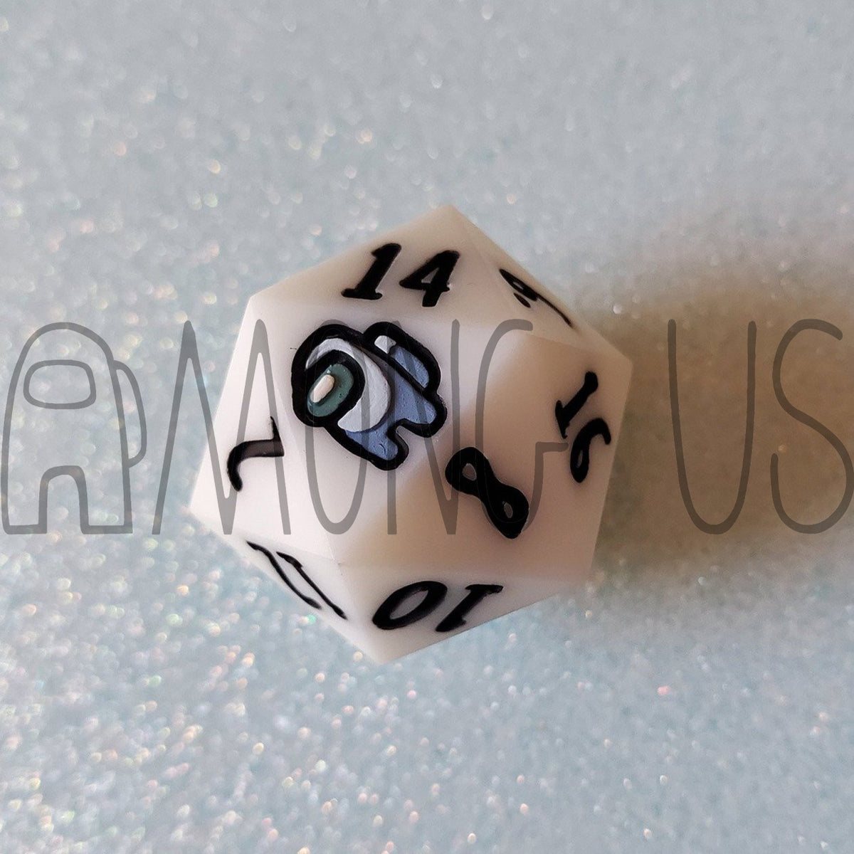 Among Us: Single D20 by The Blue Mimic
