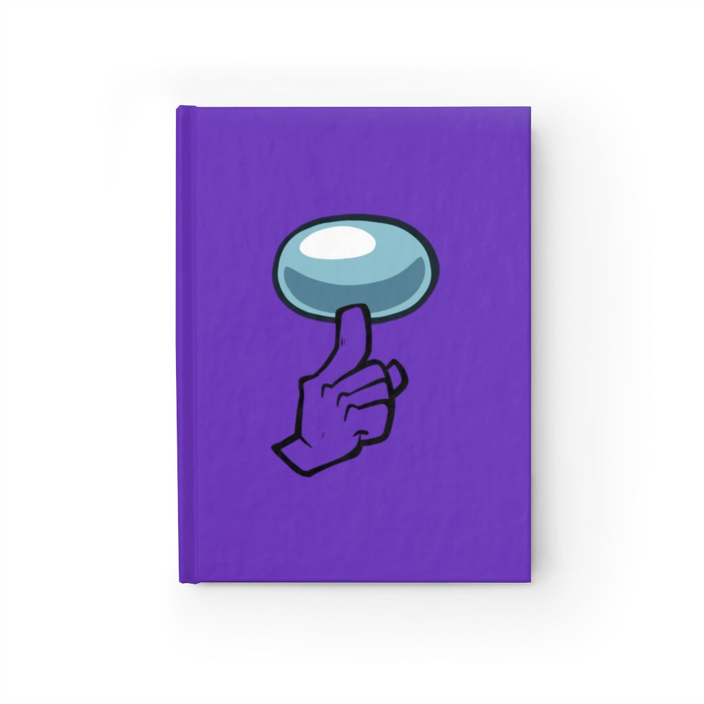 Among Us: Shhh! - Unruled Journal (Purple)