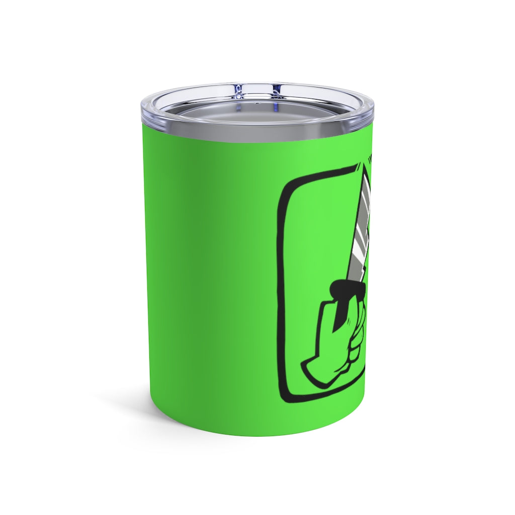 Among Us: Shhh! 10oz Tumbler (Green)