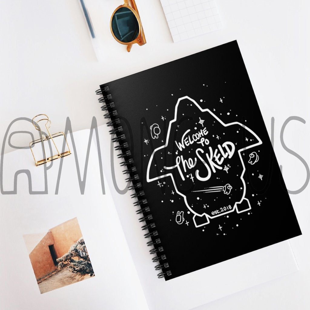 Among Us: Welcome to The Skeld Spiral Notebook - Ruled Line - Innersloth Store