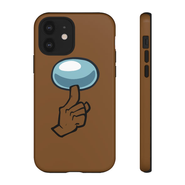 Among Us: Shhh! - Phone Case (Brown)