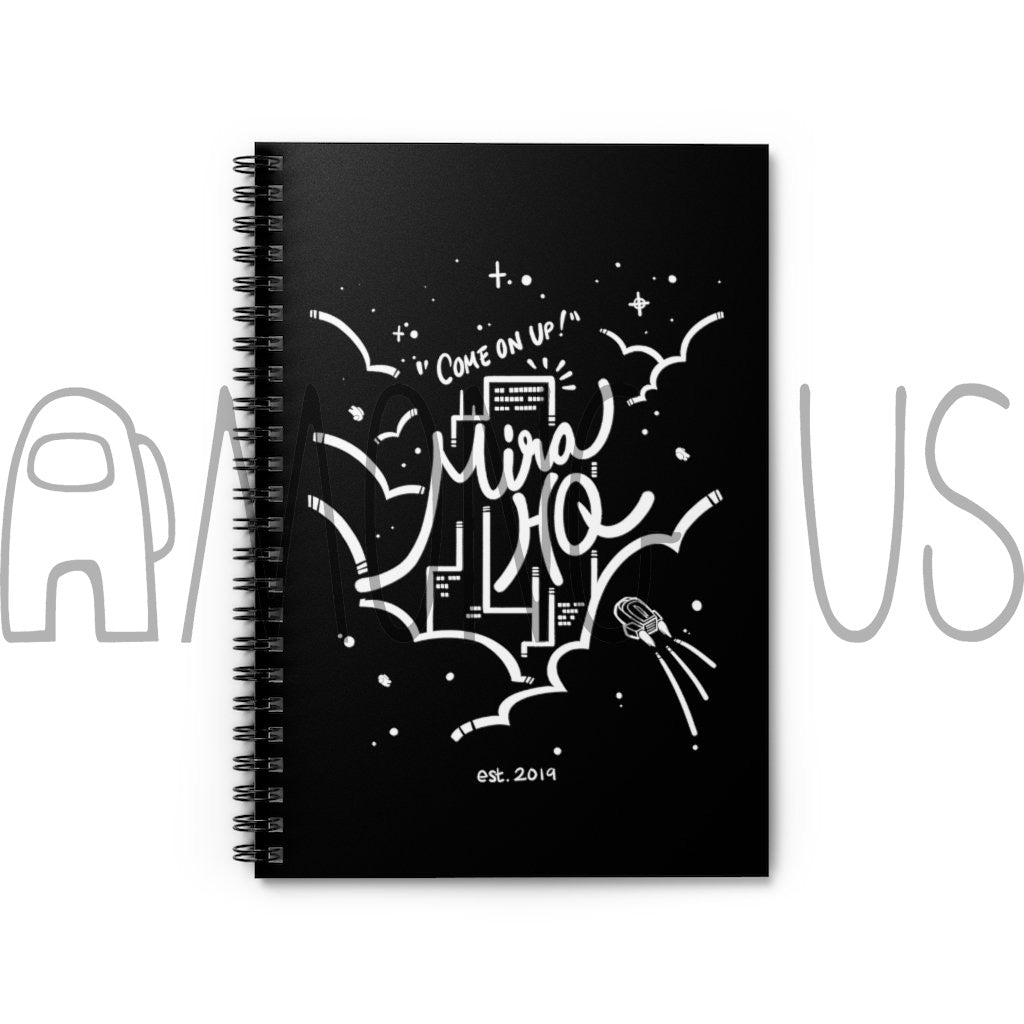 Among Us: Come On Up to MIRA HQ Spiral Notebook - Ruled Line