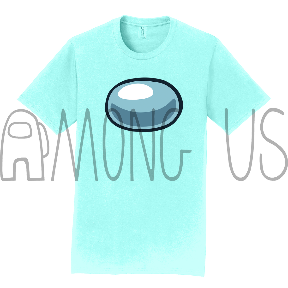 Among Us: Crewmate Tee (Cool Colors)