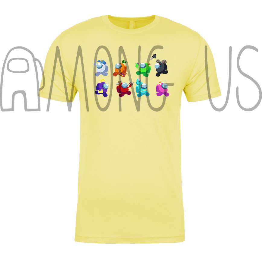 Among Us: Crewmate Task Parade Tee (Multiple Colors)