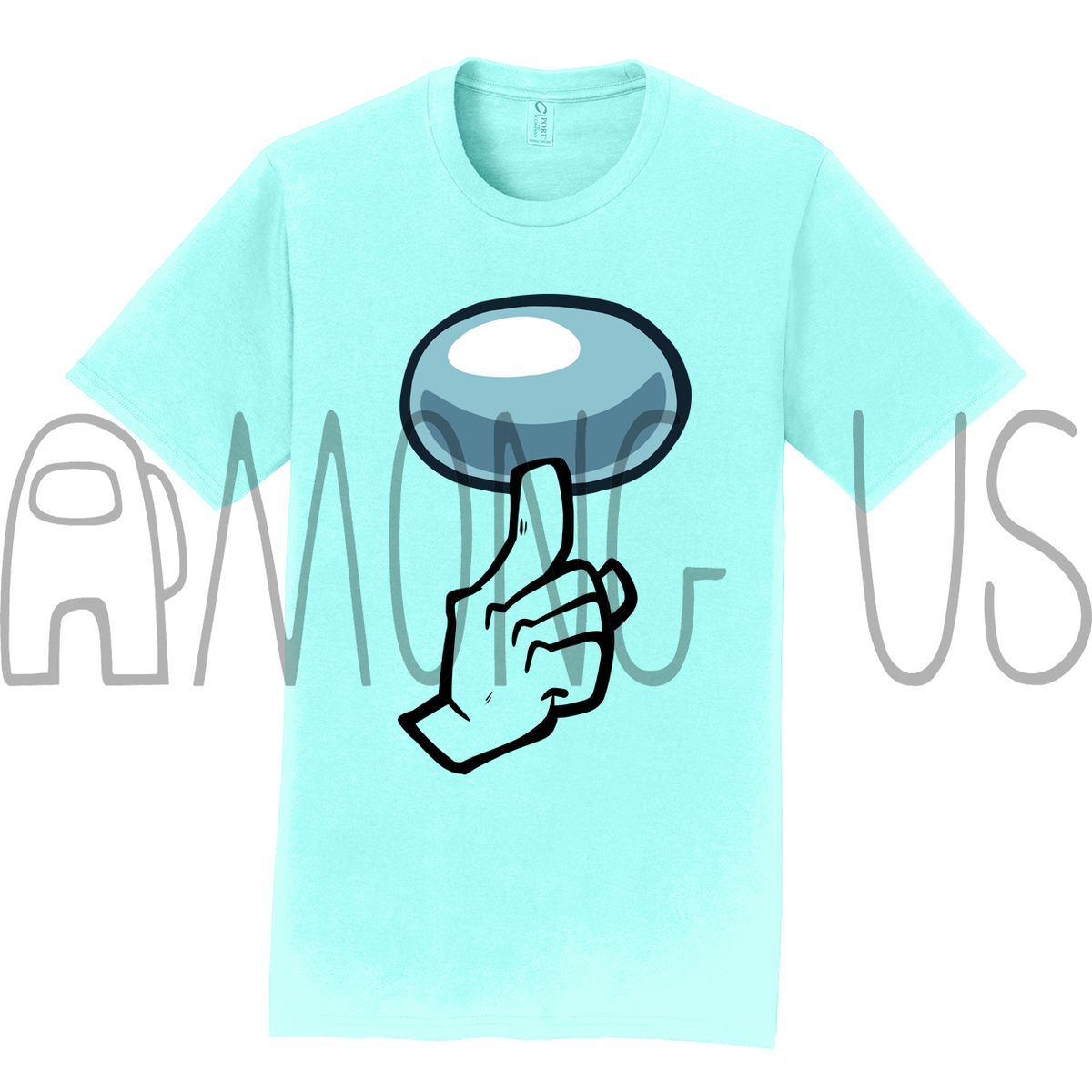 Among Us: Shhhirt (Cool Colors)