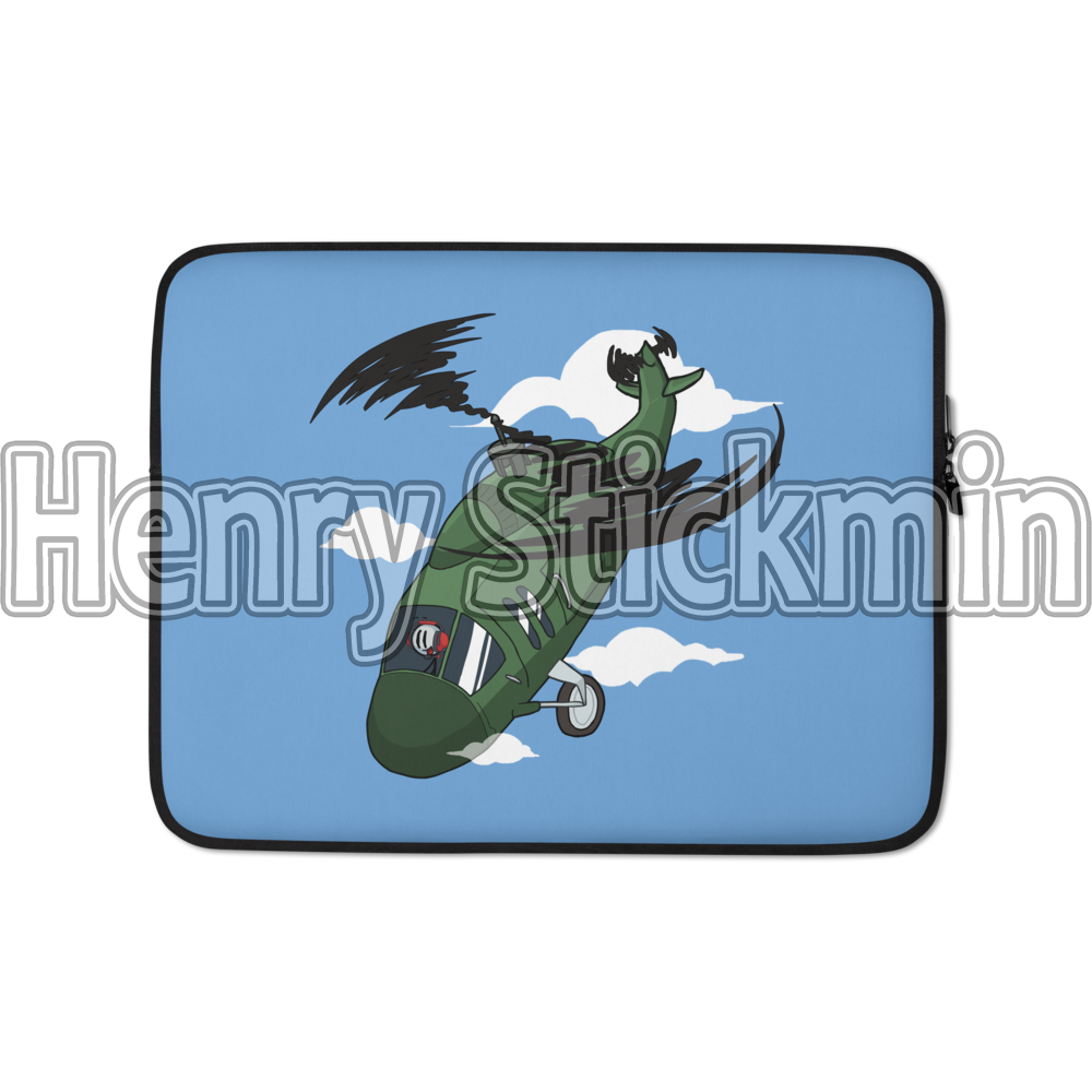 "Henry Stickmin: ""This is the greatest plaaan!"" Laptop Sleeve"