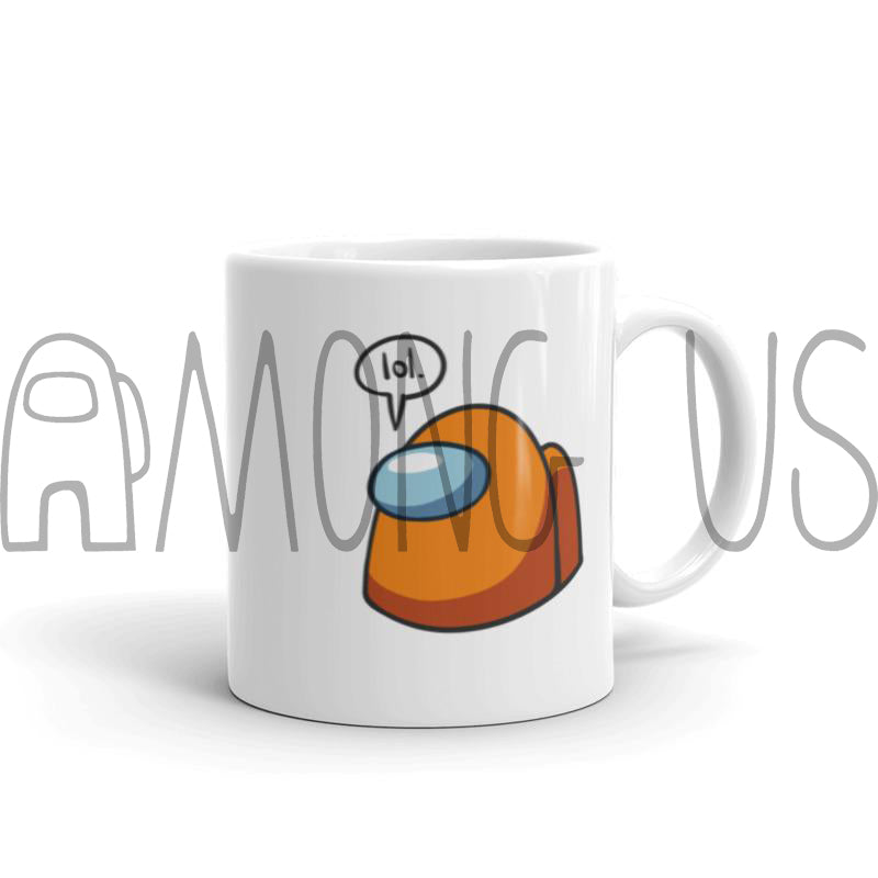 "Among Us: ""Me, the Impostor? Lol."" Mug"