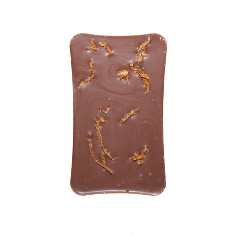 Milk Chocolate with Spices and Orange