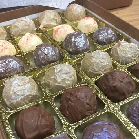 Gin Flavours Fresh Cream Truffle Assortment
