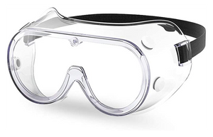 "PROTECTIVE MEDICAL GOGGLES-""PCR""- (10 per case) - $3.59 each/$43.13 per case"