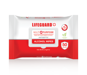 LIFEGUARD MULTI-PURPOSE ALCOHOL WIPES (36 per case)- $3.50 each