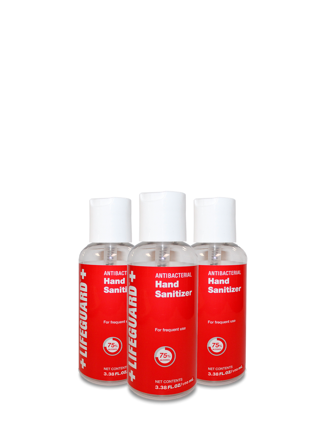Hand Sanitizer 3.38 oz. -AGTV- 120 pieces per case