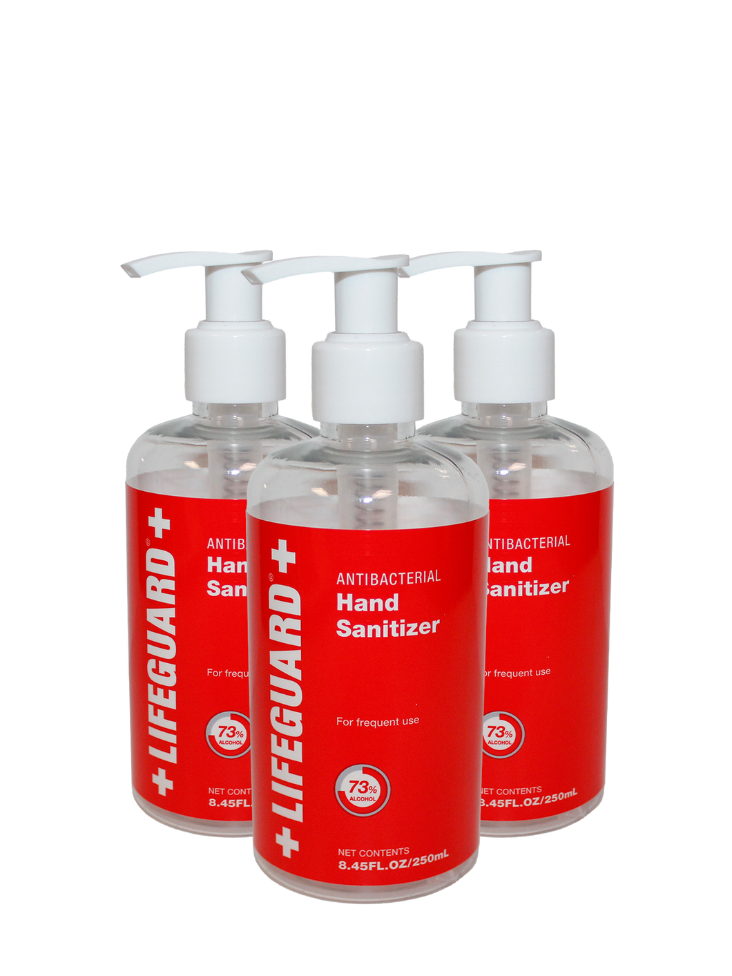 LIFEGUARD ANTISEPTIC LIQUID HAND SANITIZER 16 fl oz (24 per case)-$4.75 each