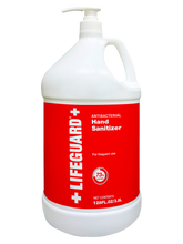 "Load image into Gallery viewer, LIFEGUARD ANTISEPTIC LIQUID HAND SANITIZER 1 Gallon -""PCR"" (4 per case) - $22.46 each/$89.85 per case"
